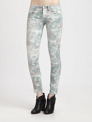 IRO Damia Camo-Print Skinny Jeans