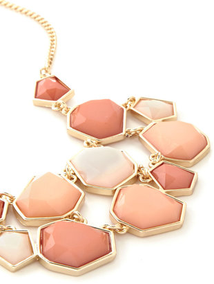 Coral Day and Night Necklace