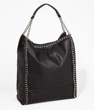 Express Chain Wrapped Hobo Bag