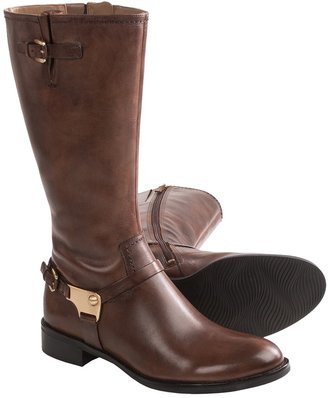 Ecco Hobart Strap Boots - Leather (For Women)