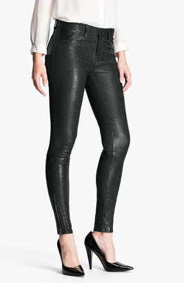 J Brand Lambskin Leather Pants
