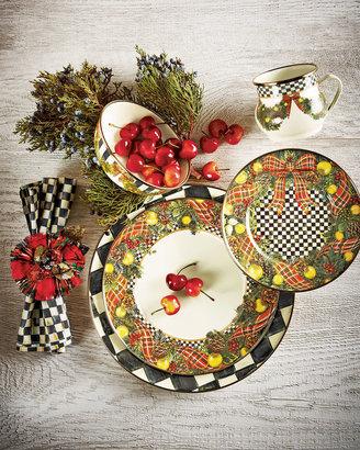Mackenzie Childs MacKenzie-Childs Evergreen Christmas Dinnerware