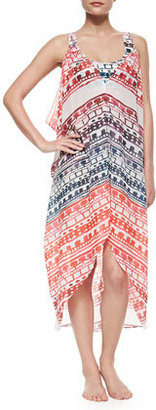 6 Shore Road Carnival Georgette Beach Cover-Up