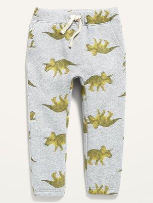 Old Navy Unisex Dino-Print U-Shaped Sweatpants for Toddler