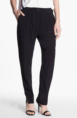 Kenneth Cole New York 'Sharla' Pleat Pants Womens Black Size 2 2