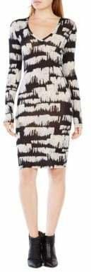 BCBGMAXAZRIA Tori Long-Sleeve Dress