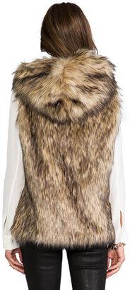 6 Shore Road Hopi Faux Fur Vest