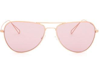 Isabel Marant X Oliver Peoples aviator-style sunglasses