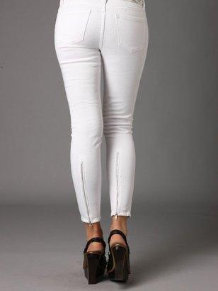Free People Blank Skinny Zip Jeans