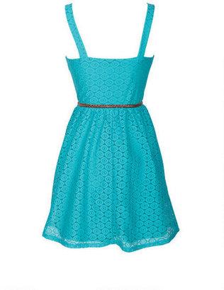 Delia's Crochet Corset Dress