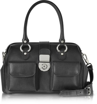 L.a.p.a. Front Pocket Calf Leather Doctor-style Handbag
