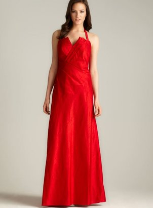 Phoebe Couture Phoebe Silk Dupioni Gown