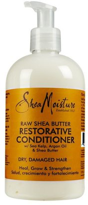 SheaMoisture Raw Shea Butter Restorative Conditioner $9.99 thestylecure.com