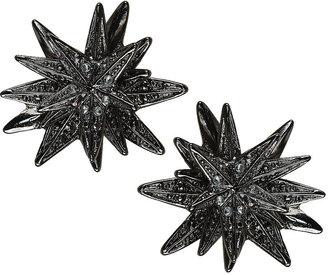 Topshop Spike Stone Stud Earrings
