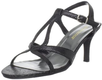 Annie Shoes Women's Alana T-Strap Sandal