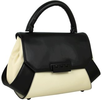 Z Spoke Zac Posen Posen Pouch (Almond/Black) - Bags and Luggage
