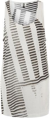 Topshop **Stripe Block Vest by Unique