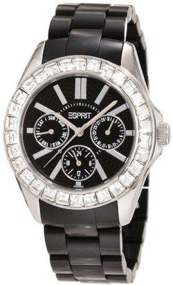 ESPRIT Women's ES105172005 Dolce Vita Plastic Black Analog Watch $145 thestylecure.com