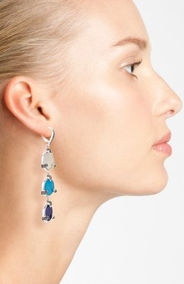 Judith Jack 'Coin' Linear Earrings