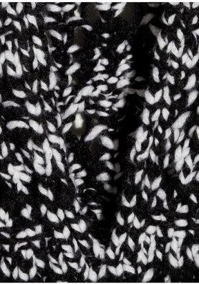 Missoni Cutout-back cashmere turtleneck sweater