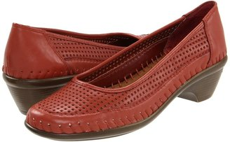 Easy Spirit Edvin (Dark Orange/Dark Orange Leather) - Footwear