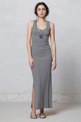 Anthropologie Striped Column Maxi Dress