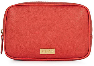 Reiss Olivio EMBOSSED COSMETIC POUCH