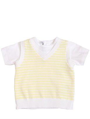 Simonetta Jersey Knit Cotton T-Shirt