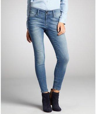 Black Orchid obsidian blue stretch denim skinny jeans
