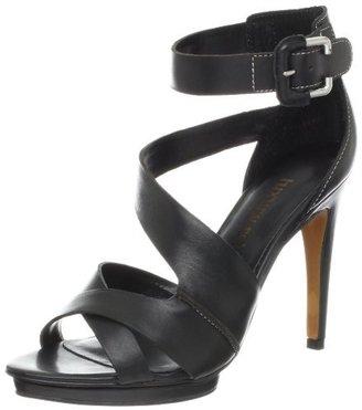 Luxury Rebel Women's Whimsy Stiletto Sandal, Black, 36 M EU/6 M US