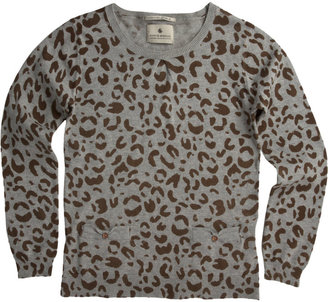 Scotch R'Belle Leopard Print Sweater