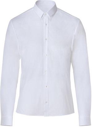 HUGO Cotton Ero Shirt in Open White