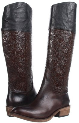 Lucchese Peyton Riding Boot (Chocolate) - Footwear