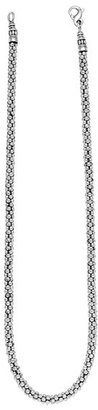 Lagos Women's Sterling Silver 4Mm Caviar Chain Necklace