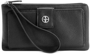 Giani Bernini Softy Grab & Go Leather Wristlet, Created for Macy's