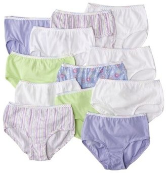 Fruit of the Loom Girls 12-Pack Brief - Assorted