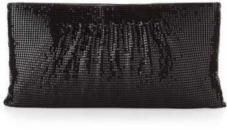 BCBGMAXAZRIA Metal Mesh Clutch Bag, Black