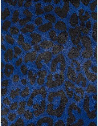 3.1 Phillip Lim Blue Leopard Minute Clutch
