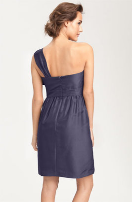 Jenny Yoo Convertible Shantung Dress
