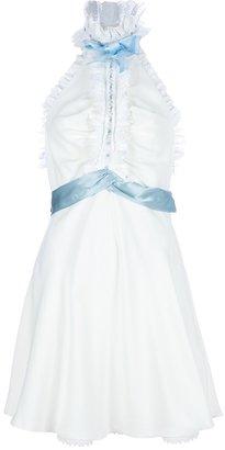 Meadham Kirchhoff 'Arvida' halter neck dress