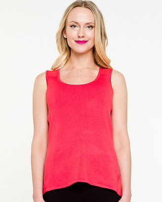 Le Château Knit & Woven Sleeveless Sweater