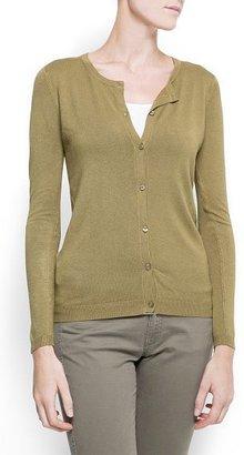 MANGO Knit essential jacket