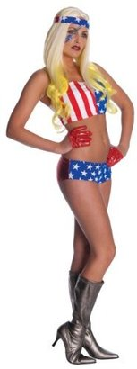 Rubie's Costume Co Lady Gaga American Flag Outfit