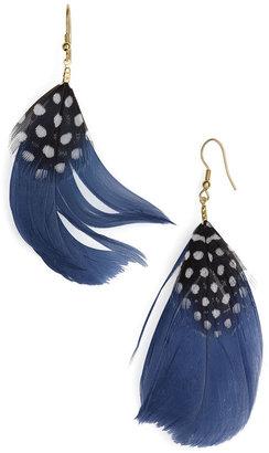 Carole Feather Earrings