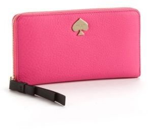 Kate Spade Leroy Street Leather Lacey Wallet