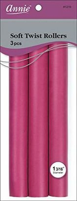 Annie Soft Twist Rollers, Plum, 3 Count $5 thestylecure.com