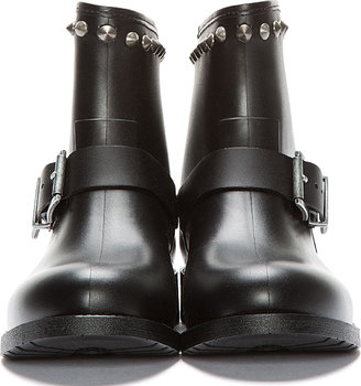 Diesel Black Stud-Me Biker Boots