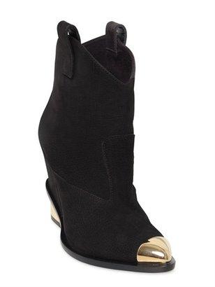 Giuseppe Zanotti 90mm Nubuck Leather Low Boots