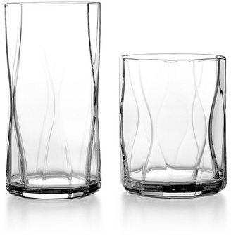 Bormioli Glassware, Set of 4 Nettuno Double Old Fashioned Glasses