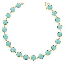Irene Neuwirth Small Cabochon Turquoise Bracelet - Yellow Gold